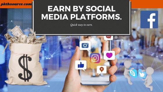 Earn money online with social media.