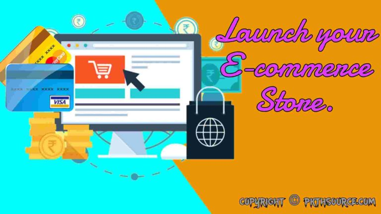 Launch your own website.