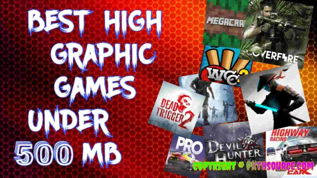 Best games under 500 mb