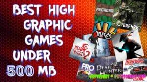 Best games under 500 mb