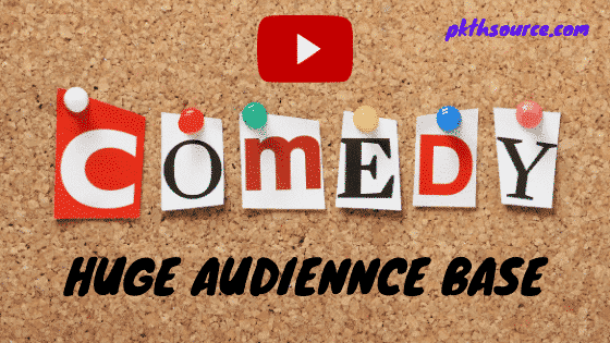 comedy channel niche have huge audience base