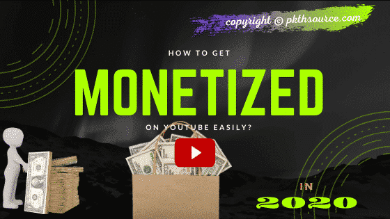 How to get monetized by youtube