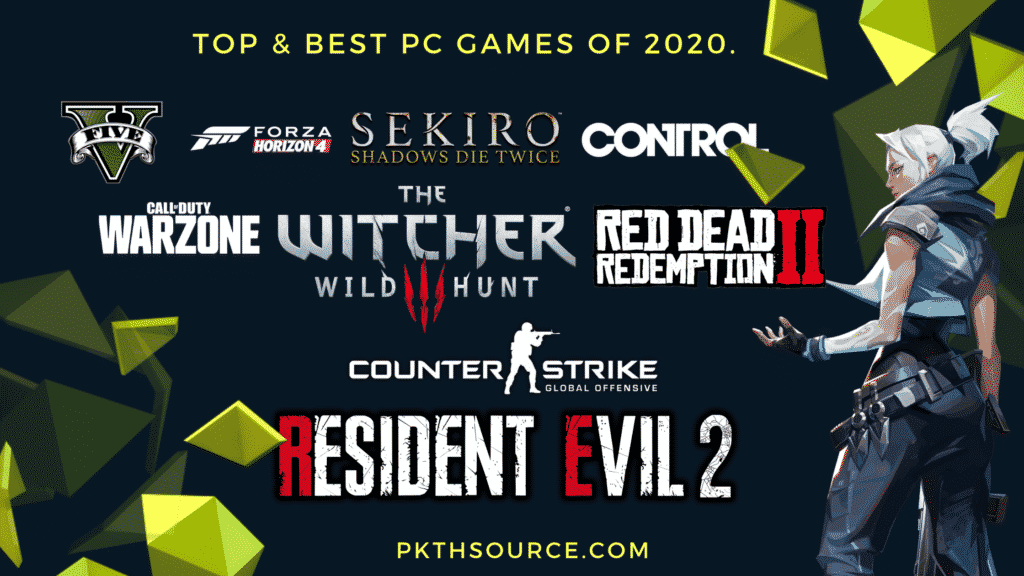 Top & best PC games of 2020
